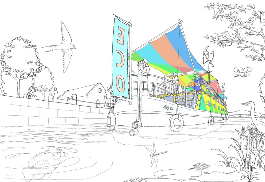 Artists Expression of the ECO Showboat