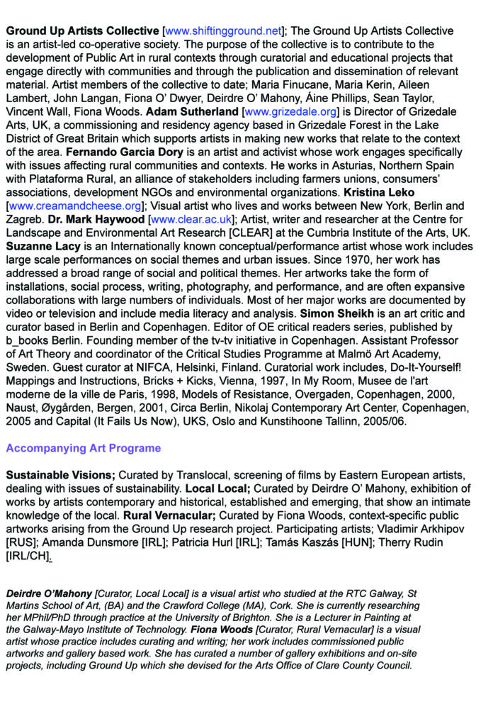Shifting Ground Conference Page 2