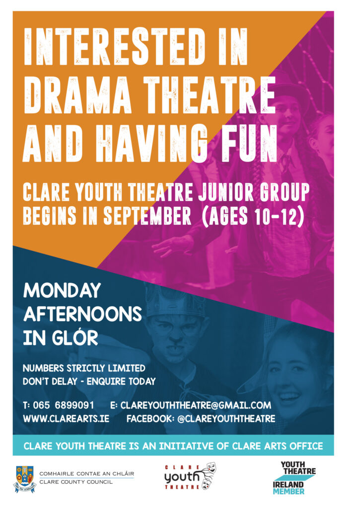 Clare YouthTheatre Junior Group